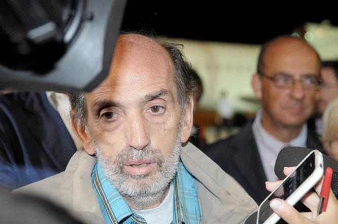 DOMENICO QUIRICO, den andra journalisten som hölls fången av rebellerna.