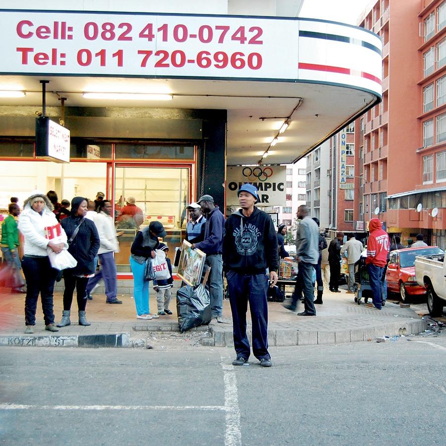 Sydafrika samtal om vitt hemland
