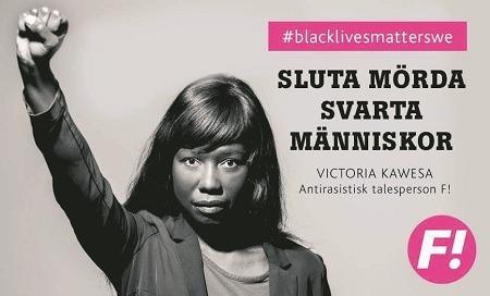 Image result for black lives matter sverige