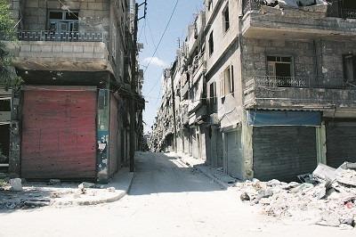 ÖDELÄGGELSEN I ALEPPO är av episka proportioner. Syriens största stad och kommersiella centrum hade 2,5 miljoner invånare innan kriget drabbade landet 2011 och striderna började i staden i juli 2012. Aleppo har överlevt sex årtusenden av krig och plundring, men de senaste fyra åren har troligen skapat mer förstörelse och fördrivit fler av dess invånare än alla tidigare konflikter. Foto: Nya Tider