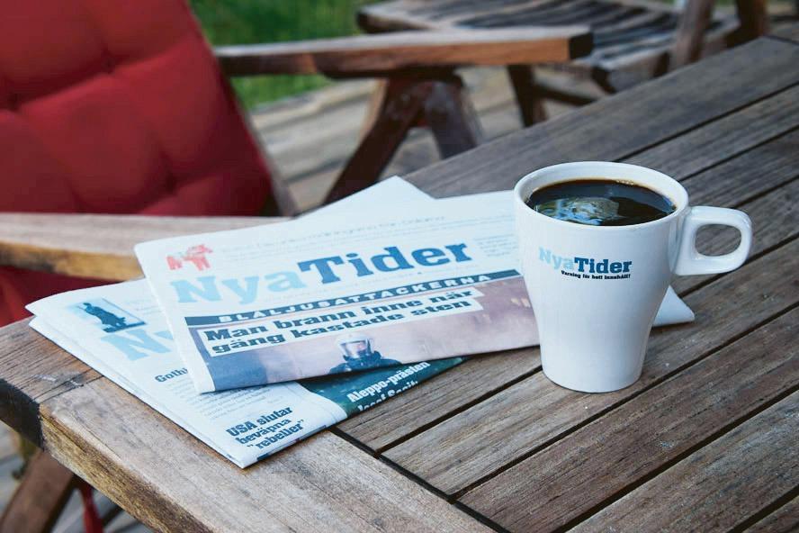 Nya Tider is a Swedish weekly since 2012. Photo: Nya Tider